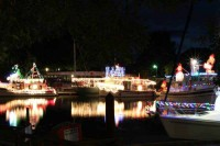 Lighted boat parade 2014